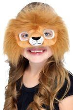 Childrens Jungle Faux Fur Lion Mask