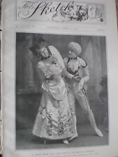 Printed photo Decima Moore Sybil Arundale My Lady Molly at Terry's 1903 ref W2