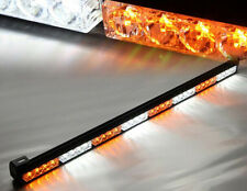 "35""36"" 32LED Emergency Traffic Advisor Light Bar Flash Strobe white amber yellow"