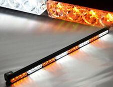 "35""36"" 32LED Emergency Traffic Advisor Light Bar Flash Strobe white amber yellow"