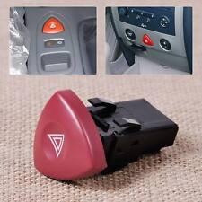 Red Hazard Warn Light Switch Dash Button 8200442724 Fits Renault Nissan Vauxhall