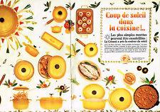 PUBLICITE ADVERTISING 114  1983  LE CREUSET  gamme MAMA ( 2p) cocotte poelon