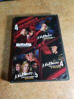 4 Film Favorites - A Nightmare on Elm Street 1-4 (DVD, 2008) FULL & WIDESCREEN