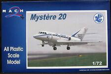 Mach 2 Models 1/72 DASSAULT MYSTERE 20 Air France