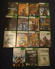 Xbox 360 and Xbox Original Game Bundle Joblot