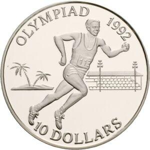 Künker: Solomon Islands, 10 Dollar 1991, Olympische Spiele, Läufer, PP!