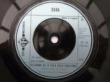 """Dana It's Gonna Be A Cold Cold Christmas 7"""" GTO GT45 EX 1975 It's Gonna Be A Col"""