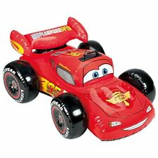 Intex Disney Cars Swimming Float Lightning Mcqueen Inflatable Car Ride on EMS