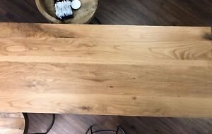 Vanity Timber Bench Tops Oak Full Stave sizes 600 750 900 1200 1500 1800 & 3000