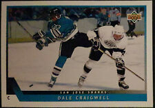1993-94 Upper Deck #56 Dale Craigwell San Jose Sharks