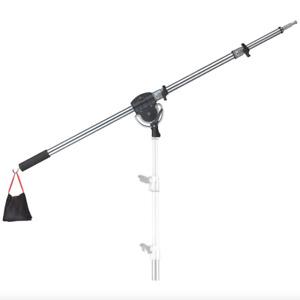 7' Mini Boom Arm Heavy Duty Foldable Swivel Combo Receiver Photo Film Studio
