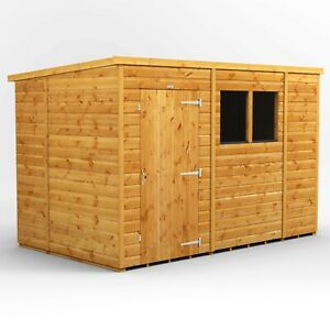 10x6 Power Pent Garden Shed | T&G | B GRADE SHED - AVAILABLE NOW
