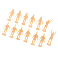 1/87 HO OO Scale Soccer Football Player Action Figure Unpainted Miniatures