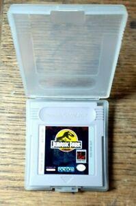 Jurassic Park (Nintendo Game Boy, 1993) Excellent Shape & Authentic