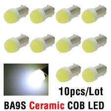 10PCS Ba9s Ceramic 1 LED COB Super Bright T4W AUTO LED Lights 1815 Bulb Lamp 12V