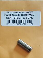 55733 REDDING VLD COMPETITION SEATING DIE STEM - 338 LAPUA + - FREE SHIP