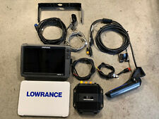 Lowrance Hds 12 Gen 3 with 3D Structure Scan Bundle used twice