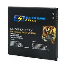 Extremecells Akku für Samsung Galaxy J7 (2015) EB-BJ700CBE Batterie Accu SM-J700