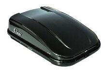 BOX BAULE DA TETTO PER AUTO,  420 LITRI,NERO OPACO. GEV s9003. MONTAGGIO FACILE