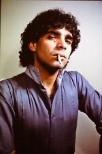 Handsome Young Man Smoking Cigarette Straight Out Of The 1980's 35mm Slide B26