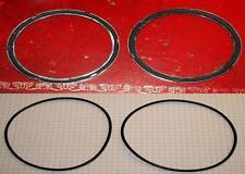 ROVER p4 strumento per cruscotto e vetro a lunetta Guarnizioni (4).