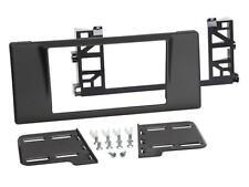 BMW 5er E39 Auto Radio Blende Einbau Rahmen Zier Blende Doppel-DIN / 2-DIN