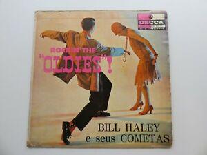 BILL HALEY  E SEUS COMETAS ROCKIN THE OLDIES  BRAZILIAN  SLEEVE UK VINYL