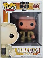 Funko Pop Merle Dixon # 69 The Walking Dead Vinyl Figure Slightly Damaged