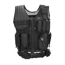 Combat Vest Mesh Breathable Black Tactical Vest Field Operations Equipment OK
