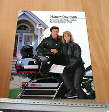 Harley Davidson Fashion & Collectables 1989 Spring/Summer Catalogue