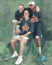2004 WNBA SEATLE STORM CHAMPIONSHIP PHOTOGRAPHS SUE BIRD - LAUREN JACKSON +