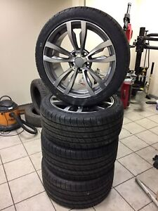 20 inch summer wheels + tyres for BMW X5 X6 E70 E71 F15 F16 469 style 315/35
