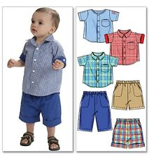 McCall's 6016 Sewing Pattern to MAKE Toddler Shorts & Shirt 13-29 lbs/6-13.5 kg