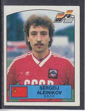 Panini - Euro 88 - # 252 Sergeij Aleinikov - SSSR