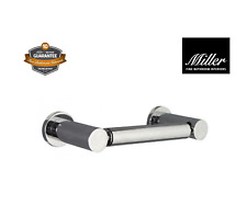Miller Fine Bathrooms Bond Luxury Double Post Toilet Roll Holder Brand New Boxed
