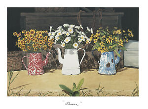 """Daisies"" Bob Timberlake Art Print"