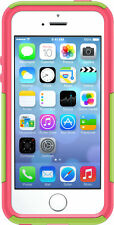 OtterBox Commuter Case iPhone SE, iPhone 5S, iPhone 5, Green Pink Easy Open Box