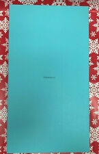 Authentic Tiffany & Co Empty box & Suede Hard Case for Very Large necklace