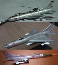 Sukhoi Su-7 or -9 or -11 or -15 Diecast USSR Airplane model  DeAgostini 36 73 44