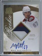 2008-09 Upper Deck The Cup Gold Rainbow /67 Max Pacioretty #112 Rookie Auto