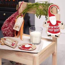 La víspera de Navidad Kit 4 piezas Santa tema ** Free P & P **