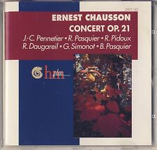 Chausson - Pasquier, Pennetier: Concerto for Violin, Piano & Strings Like New