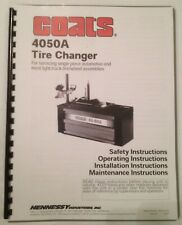 Coats 4050a Tire Changer Operation And Parts Manual