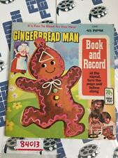 Gingerbread Man 1940 Book And Record 45 RPM (1940) [84013]