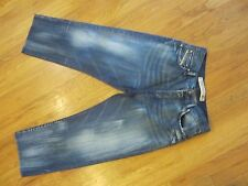 Mens DIESEL INDUSTRY  RR55  Denim BUTTON FLY Jeans Size 32x28