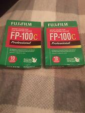 2 Packs Fujifilm Fp-100C Instant Colour Film - Exp 07/2014 - No Reserve