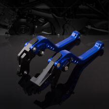 For Suzuki SV650 SV650S 1999-2009 Brake Clutch Levers CNC Aluminum Blue Levers
