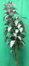 5' SILVER KING PALM ARTIFICIAL SILK TREE PLANT TROPICAL BUSH TOPIARY TREE