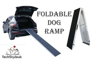 Pet ramp Aluminum fold able foldable nonslip 3 sizes car access travel dog