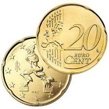 Pièces euro de l'Italie 20 Cent